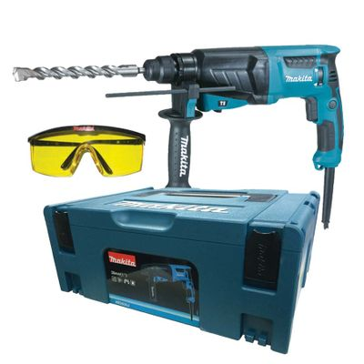 c2db73d131966 Kit Martelete Combinado + Maleta HR2630J + Óculos de Segurança ...