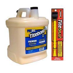 Kit-Cola-para-Madeira-II-Premium-Wood-Glue-814Kg---Pincel-de-Silicone-Titebrush