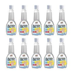 Kit-10-Alcool-Gel-70°-Antisseptico-e-Higienizador-de-Maos-500G-Orbi