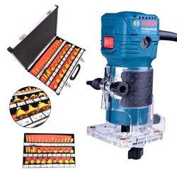 Kit-Tupia-550W-GKF-550-Bosch-Conjunto-de-Fresas-para-Madeira-6mm-KF35-NKF-35PC