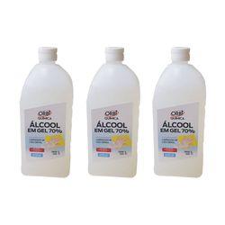 Kit-3-Alcool-Gel-70°-Antisseptico-e-Higienizador-de-Maos-1-Litro-Orbi