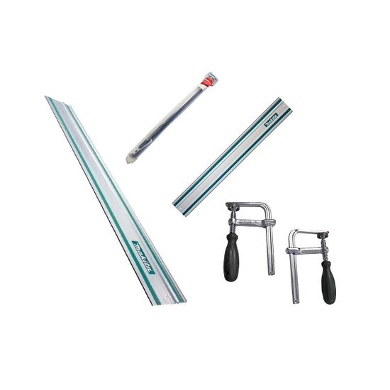 Kit para SP6000 com Cj Sargentos + Conector de Trilho + Trilhos de 1 e 1,5m