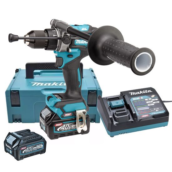 Parafusadeira-Furadeira-de-Impacto-a-Bateria-40V-XGT-25Ah-HP001GD201-Makita-220-Volts