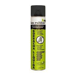 Borracha Líquida em Spray Aerossol Hm Rubber 400 ml Preto