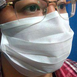 Máscara Cirúrgica Respiratória Facial Descartável Multi Industrial 25 Unidades