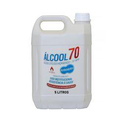 Álcool Líquido 70º 5 Litros