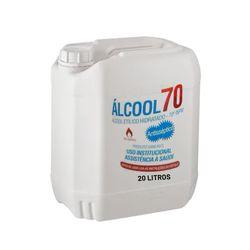 Álcool Líquido 70º 20 Litros