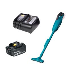 Kit Aspirador de Pó DCL180Z Makita e Bateria 18V 3.0Ah e Carregador