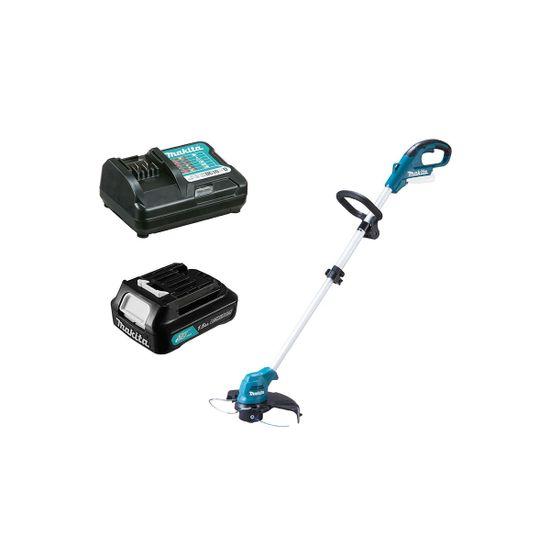 Kit Aparador de Grama UR100DZX Makita e Bateria 12V 1.5Ah e Carregador