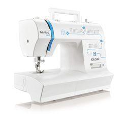 Máquina de Costura Doméstica Portátil Genius Plus JX 4035 Elgin
